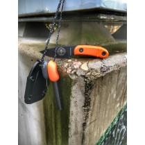 obrázek ESEE Candiru Black + handle orange + LMF Army orange