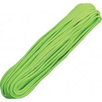 obrázek Paracord 100ft neon green