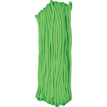 obrázek Paracord 100ft lime green