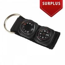 obrázek Pentagon key ring compass