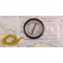 obrázek Map Compass, plastic body, magnifier, measuring device #34203
