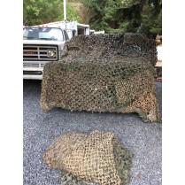 obrázek US camouflage screening system woodland/support system,